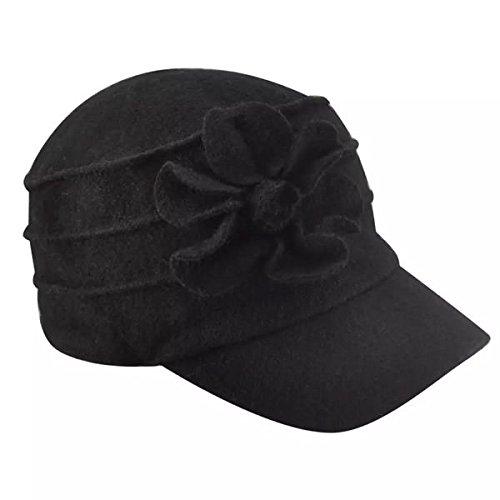 betmar-new-york-ridge-flower-cap-black