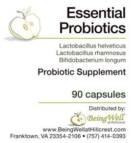 Essential Probiotics Microorganisms Lactobacillus Bifidobacterium product image
