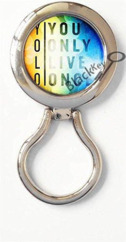 ve Once / YOLO Magnetic Metal Eyeglass Badge Holder, Eye Glass Holding Brooch -196 (196 Eyeglasses)