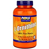 NOW Foods L-Ornithine Powder, 8 Ounces