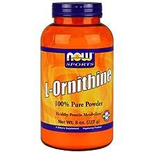 Now L-Ornithine 100% Pure Powder 8 oz