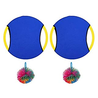 Elastic Ring Toy, Training Elastic Ring Bouncing Ball Outdoor Interactive Sports Toy for Kindergarten Children(Blue)