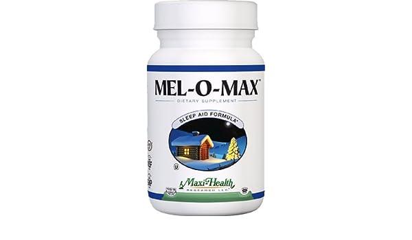 Amazon.com: Maxi Health Mel-O-Max - Melatonin - with Valerian Root - Sleep Aid - 60 Capsules - Kosher by Maxi-Health: Health & Personal Care