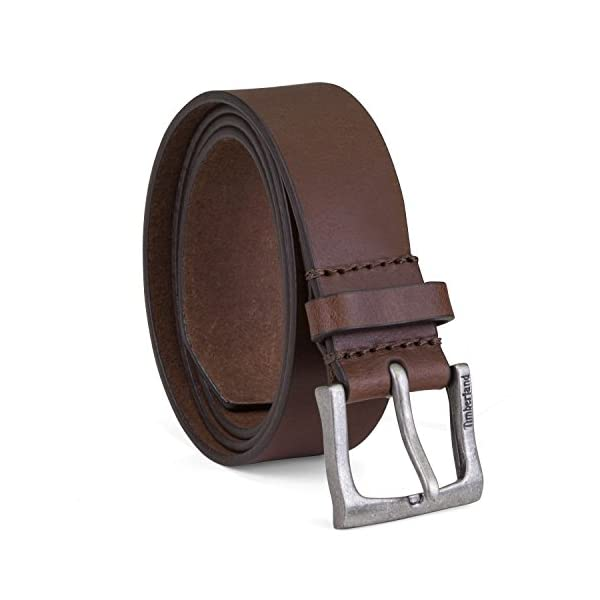 Timberland Men's Classic Leather Jean Belt 1.4 Inches Wide (Big & Tall...