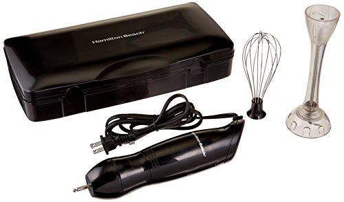 Hamilton Beach 59785R 2-Speed Hand Blender with Case, Black