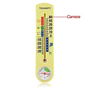 Outdoor Thermometer Hidden Camera DVR