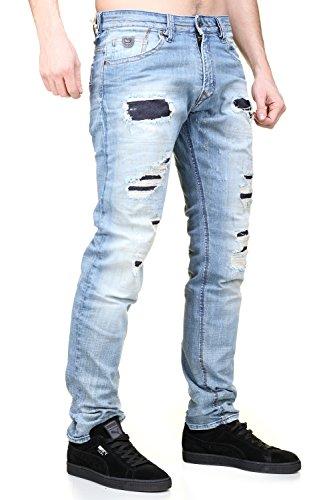 Bleu Broz Jeans Dertroy Kaporal Worker rPq5c4Iwq