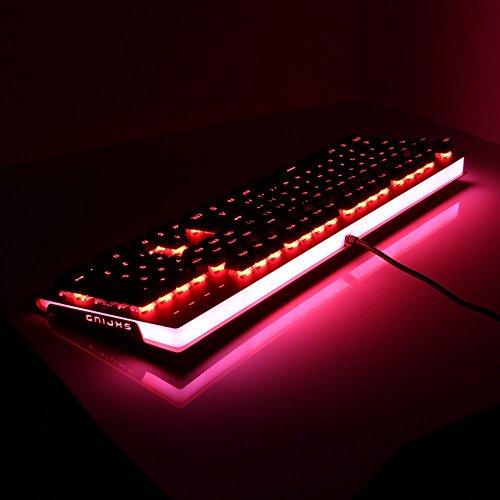 Et Robot Mechanical Gaming Keyboard Red Led Backlit And