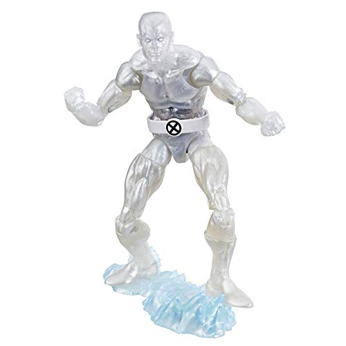 "Marvel Retro 6""-Scale Fan Figure Collection Iceman (X-Men) Action Figure Toy - Super Hero Collectible Series"