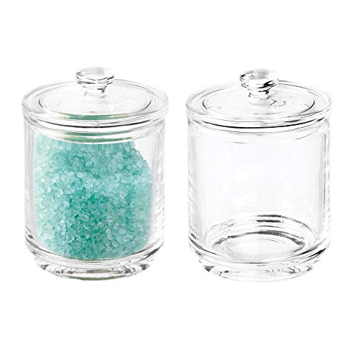 Buy glass bath canister