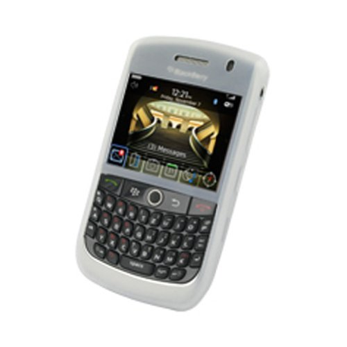 Mobile-Protector Silicone Case (white) for BLACKBERRY 8900 javelin