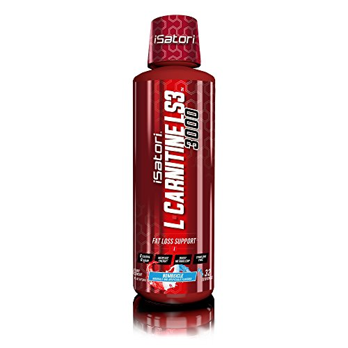 iSatori L-CARNITINE LS3 Concentrated Liquid Fat Loss/Metabolism Activator - Bombsicle 3000mg/32 Servings by iSatori