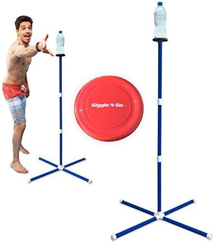 GIGGLE N GO Outdoor Games for Kids – Yard Games, Sports Gifts for Boys, Girls. Teenage Boy Gifts, Only One That Can Be Played on All Surfaces. Teen Boy Gifts for Lawn, Beach, Camping or Outside Games