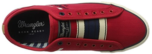 Wrangler Starry Slip On - Zapatillas Hombre Rot (Red)
