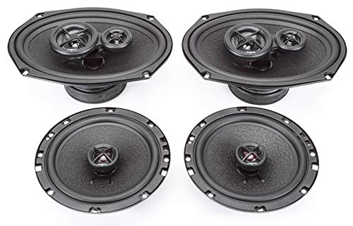(2003-2005 Kia Sedona Complete Premium Factory Replacement Speaker Package by Skar Audio)