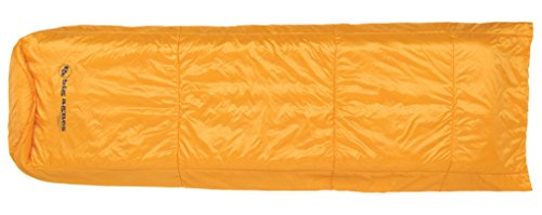 Big Agnes Kings Canyon UL Quilt Ultra Lite Primaloft Silver Synthetic Camping Blanket, Gold