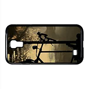 Bicycle Bokeh Watercolor style Cover Samsung Galaxy S4 I9500 Case (Autumn Watercolor style Cover Samsung Galaxy S4 I9500 Case)