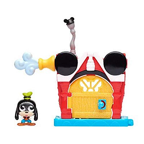 Disney Doorables Mini Playset - Mickey Mouse Clubhouse with Exclusive Goofy Figure