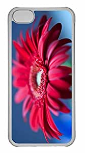 iPhone 5C Case, Personalized Custom Fathers Day Flowers for iPhone 5C PC Clear Case by mcsharks