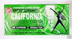 California Dieter Drink Extra Strength Tea | 1.76 ounces | 3 Pack