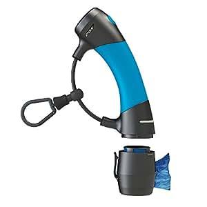 Dog Gone Smart I'm Gismo- Handle with Poop Bag Dispenser in Electric Blue
