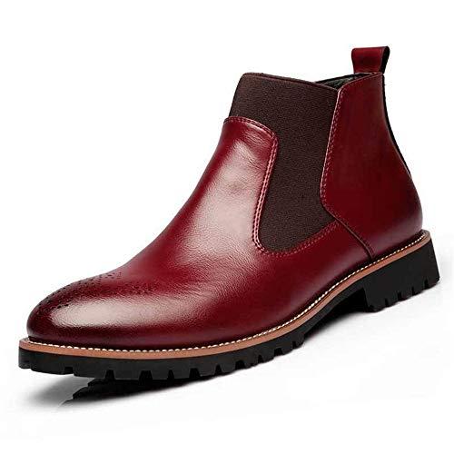 rivestimento Dimensione 40 Rosso ginocchio EU con Stivali con pelliccia antiscivolo Rosso da al Scarpette durevoli e uomo in Colore stivaletti morbidi Jincosua qSvBwU