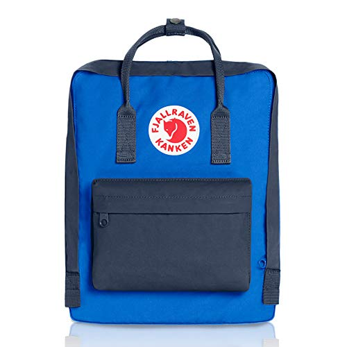 Fjallraven - Kanken Classic Pack, Heritage and Responsibility Since 1960, One Size,Graphite/UN Blue