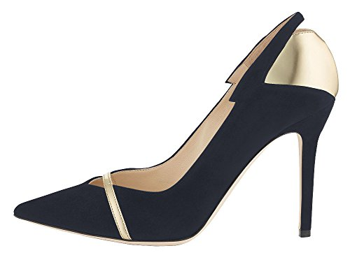 Damen Court Spitz Damen Braut Party Pumps Zehe High Heels Schuhe Schuhe Kitzen SwfHq