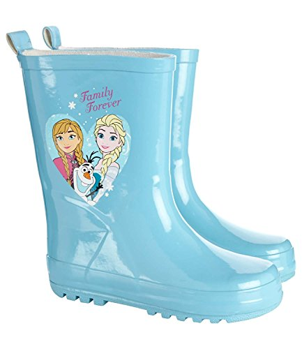 Disney Die Eiskönigin Elsa & Anna Mädchen Regenstiefel 2016 Kollektion - türkis Türkis