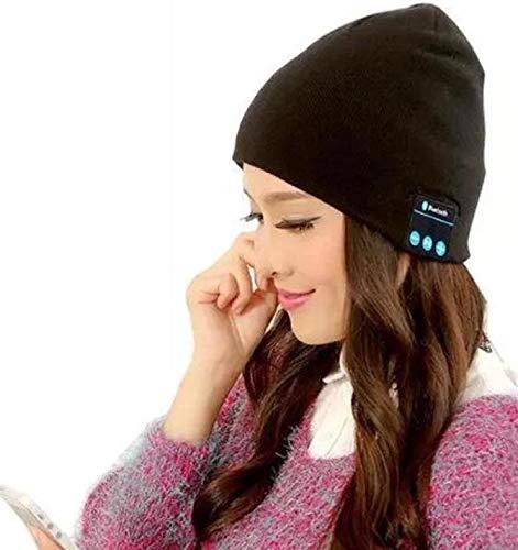 XIKEZAN Unisex Bluetooth Beanie Winter Knit Hat V4.1 Wireless Musical Headphones Earphones w/ Speakers Beanies Hats Cap Unique Christmas Tech Gifts for Teen Young Boys Girls Men Women