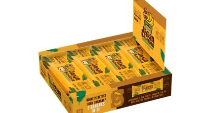 JanaBanana bar with Peanut Butter (Pack of 12) ()