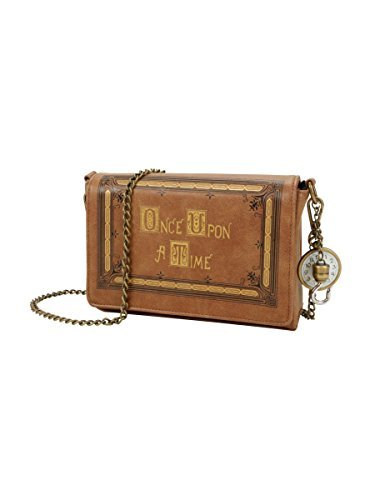 Once Upon A Time Book Cover Crossbody Handbag  -