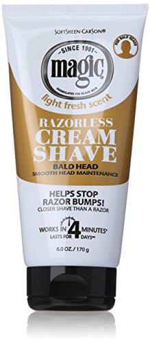 Magic Hair Removal & Shaving Cream Smooth Strength Bald Head Maintenance...