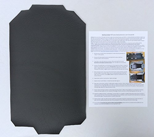 Ford Explorer armrest console replacement cover - Dark Charcoal Gray Explorer Supply Store