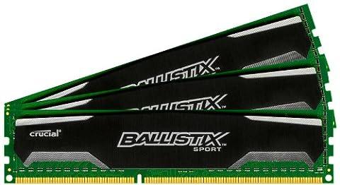 Ballistix Sport 12GB Kit (4GBx3) DDR3 1600 MT/s (PC3-12800) UDIMM 240-Pin Memory - - Maximus Formula