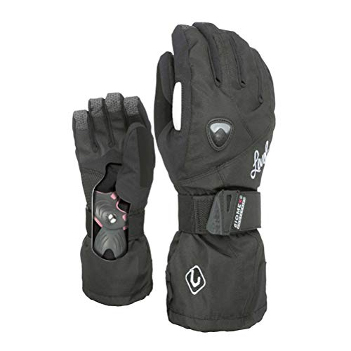 Gloves Snowboard Level Fly - Level Women's Butterfly Glove,Black,7.5 / Small Medium