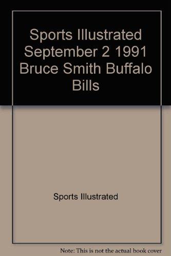 Bruce Smith Buffalo Bills - Sports Illustrated September 2 1991 Bruce Smith Buffalo Bills