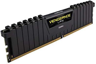 Corsair Vengeance LPX modulo da 16 GB (1 x 16 GB) DDR4 3200 (PC4-25600) C16 1,35 V, ottimizzato AMD Ryzen – Nero