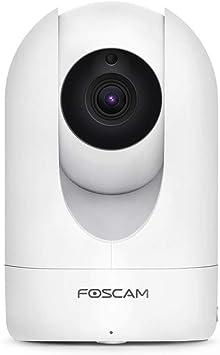 Opinión sobre Foscam R4M – Cámara IP Interior motorizada 4 MP – Cámara Wi-Fi con Consulta y Control Remoto 24H/24 y 7J/7 – Detección de Movimiento y Alarma Push