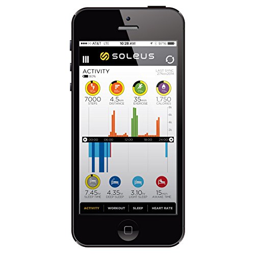 Soleus SG013-040 GPS Watch Black; Blue