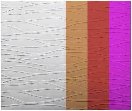 York Wallcoverings Patent Decor PT9418 Textured Tidal Swell Paintable Wallpaper, White - - Amazon.com