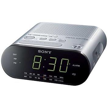 Sony ICF-C218 - Radio (Ión de litio, Not Available, Reloj, Analógica, 87,5-108 MHz, CR2032): Amazon.es: Electrónica