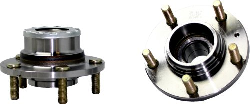 Brand New (Both) Rear Wheel Hub and Bearing Assembly for 2003-05 Hyundai Tiburon 5 Lug W/o ABS (Pair) 512199 x2