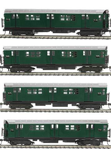 【お得】 MTH TRAINS; B07JK9K372 MIKES 地下鉄セット TRAIN HOUSE MTA MTA R-21 4-CAR 地下鉄セット PS3 B07JK9K372, 家具の基:940d2ef9 --- sinefi.org.br