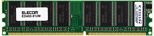 [Model] ELECOM Desktop For PC Upgrade Memory DDR400 PC3200 184pin DDR - SDRAM DIMM MB ED400 - /512 m