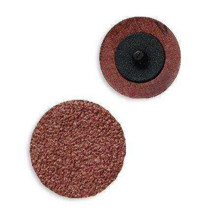 """5pc 2"""" Roloc Sanding Disc 36 Grit Aluminum Oxide Coarse"""