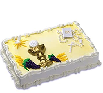 Amazoncom Oasis Supply First Holy Communion Cake Kit Kitchen Dining