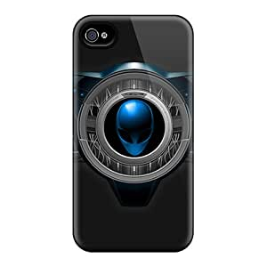 IanJoeyPatricia Iphone 4/4s Bumper Cell-phone Hard Covers Unique Design High-definition Alienware Image [QnX12222jflQ]