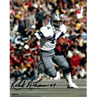 $27 » Robert Newhouse Signed Photograph - 8x10#44 white jersey) - Autographed NFL Photos