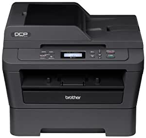 Brother DCP-7065DN Monochrome Laser Multi-Function Copier with Duplex Printing and Networking
